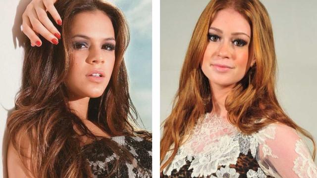 Marina Ruy Barbosa será plebeia e terá Marquezine como rival em novela