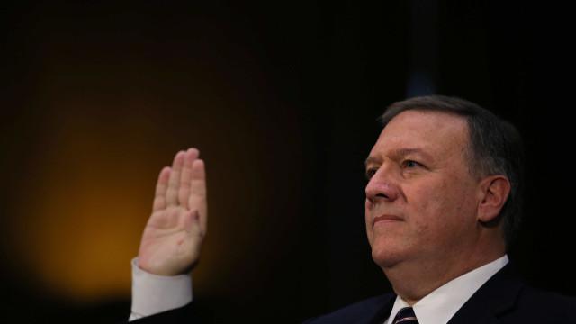 Comitê dos EUA aprova Mike Pompeo como secretário de Estado