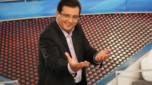 Geraldo Luís passa mal em gravação do 'Domingo Show'