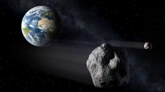 Novo asteróide passará 'raspando' na terra em outubro