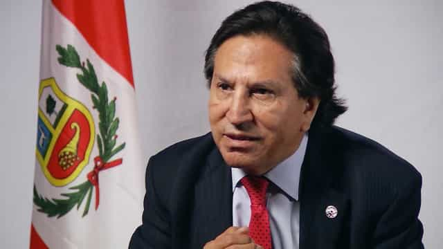 Peru solicita extradição de ex-presidente Alejandro Toledo aos EUA