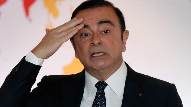 Nissan proíbe funcionários de se comunicarem com Carlos Ghosn