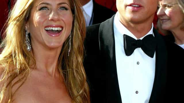 Jennifer Aniston ainda guardava mensagens românticas de Brad Pitt