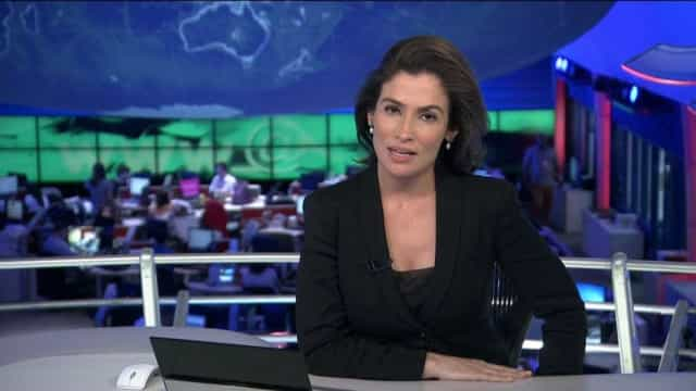 Internautas criticam Renata Vasconcellos por apresentar JN doente