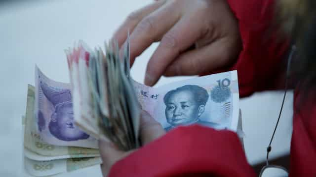 China acumula déficit em conta corrente de US$ 28,2 bi no 1º trimestre