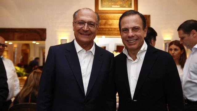 Alckmin diz que Doria é bom candidato mas não irá barrar prévias