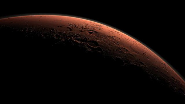 Fotos da Nasa revelam a magnitude da tempestade de poeira em Marte