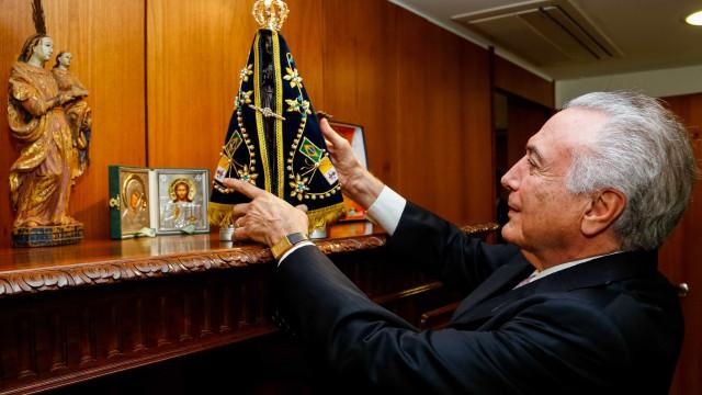 Por reforma, Temer faz ofensiva sobre líderes religiosos