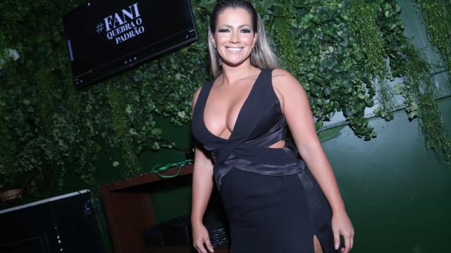 Após perder 21kg, Fani Pacheco diz que estava feliz mais gordinha