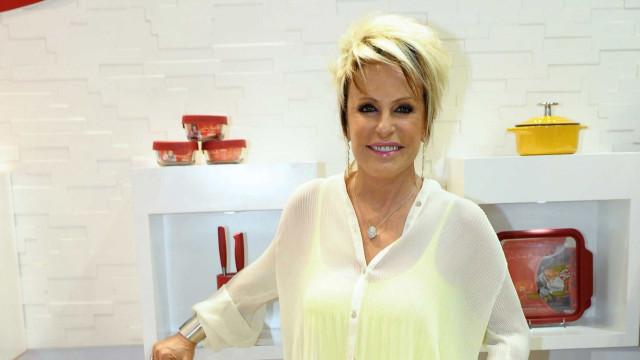Revista flagra Ana Maria Braga com olho roxo