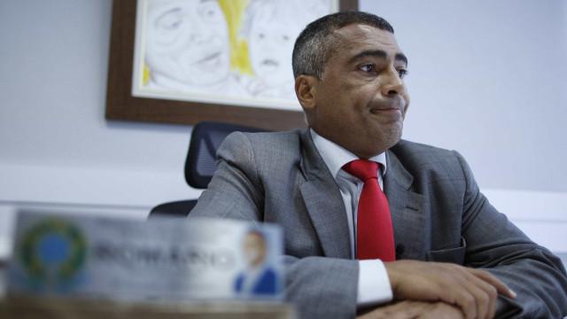 Romário pede prisão de Del Nero e pensa em presidir CBF