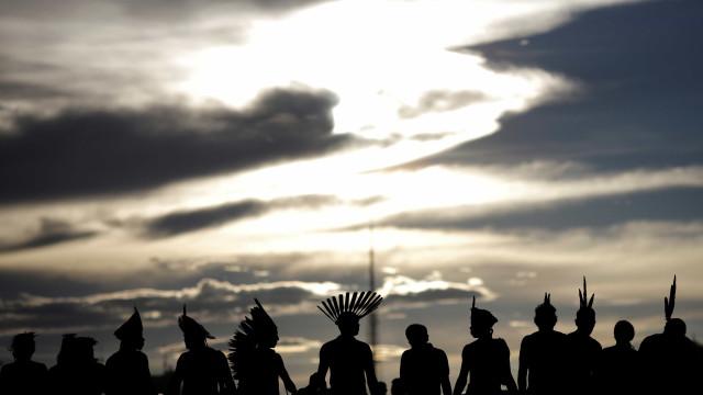 Índios protestam contra ida da Funai para o Ministério da Agricultura