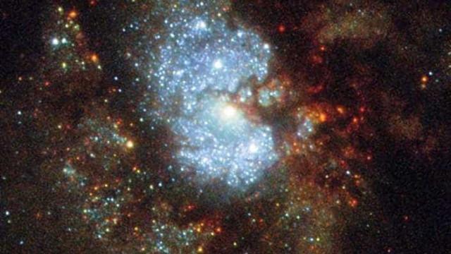 Duas estrelas anãs estão em guerra no espaço
