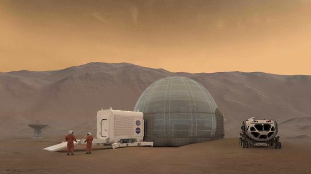 NASA termina estadia simulada de 8 meses 'em Marte'