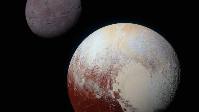 Nasa mostra em vídeo superfície  de Plutão e de sua lua Charon