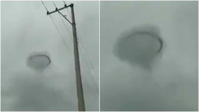 Suposto OVNI assusta moradores do México