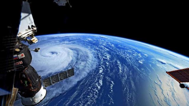 NASA revela imagens impressionantes da tempestade Noru
