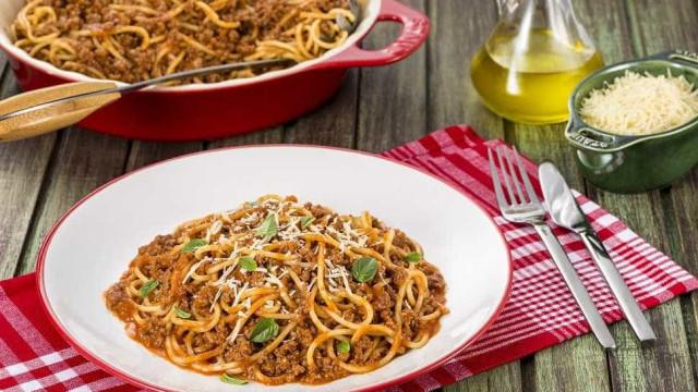 Espaguete ao Molho Bolonhesa para a volta às aulas