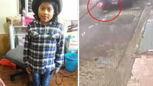 Criança morre atropelada por van escolar que a deixou em casa