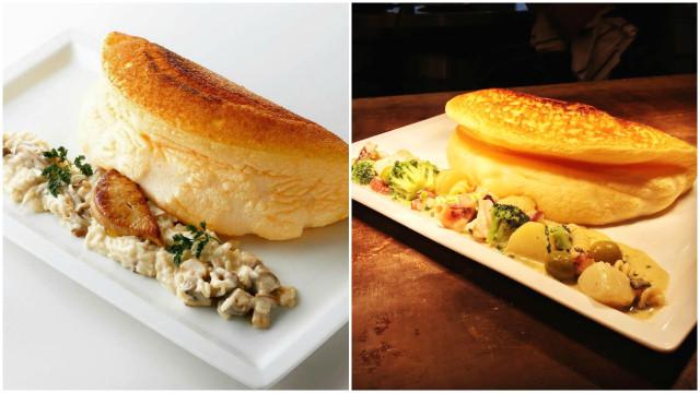Conheça o omelete mais fofo do mundo, com textura de nuvem