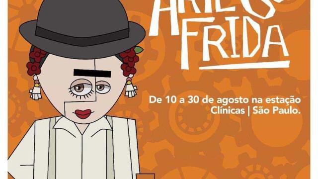 Frida Kahlo vira David Bowie e Maria Bonita  em exposição gratuita