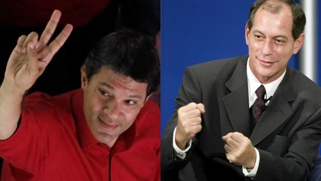 Ciro Gomes fala em chapa com Haddad para 2018: 'Seria o dream team'