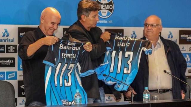 Valdir Espinosa é demitido do Grêmio e desabafa: 'Decepção total'
