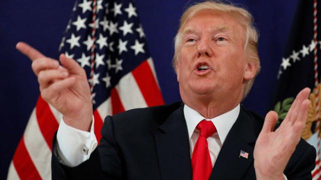 Trump diz que solução militar para atacar Coreia do Norte está pronta