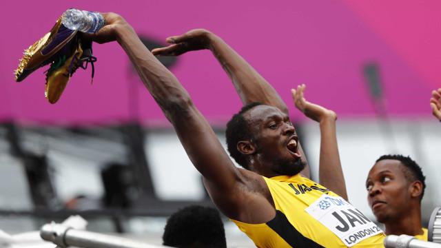 Em Londres, Bolt se despede com o revezamento 4x100m da Jamaica
