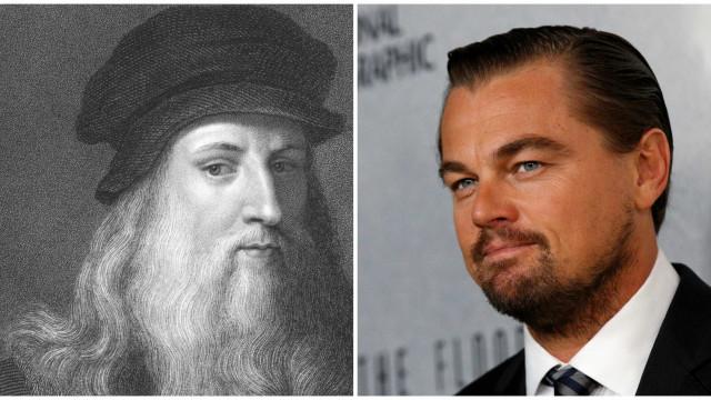 DiCaprio vai viver Leonardo da Vinci no cinema