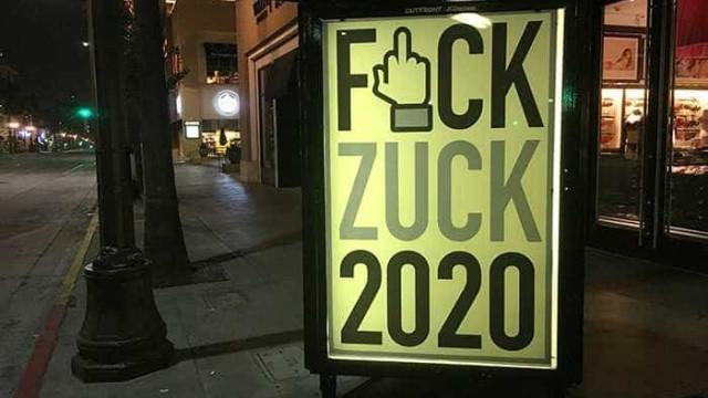Artista diz ter tido página deletada após crítica a Zuckerberg
