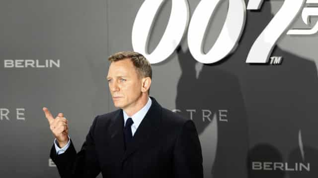 Daniel Craig será James Bond pela quinta vez