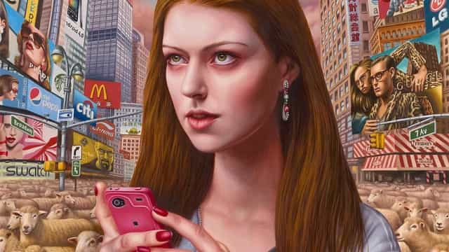 Artista cria obras que retratam as relações na pós-modernidade