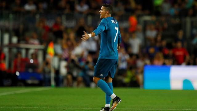 Isso se chama perseguição, diz Cristiano Ronaldo sobre punição