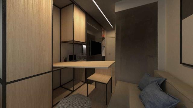 Ao custo de R$ 100 mil, menor apartamento do país tem 10m2