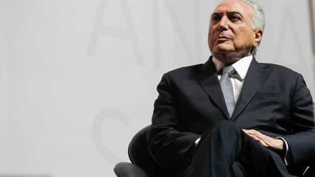 Para Temer, resultado do PIB mostra que Brasil está se recuperando