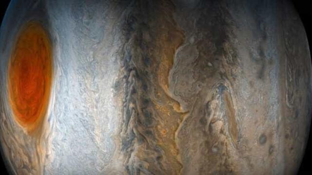 Sonda da Nasa revela novo ângulo do misterioso planeta Júpiter