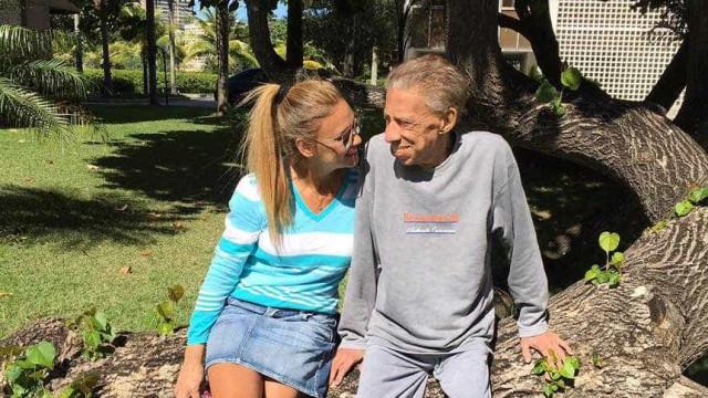 'Nunca mais serei feliz', diz viúva do humorista Paulo Silvino