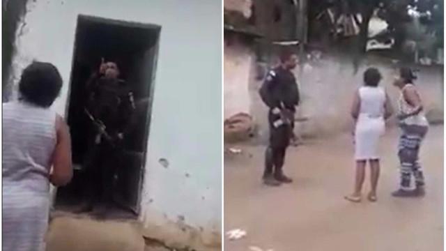 Policial agride mulher e dá tiros para o alto em favela do Rio; vídeo