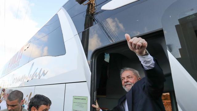 Detido com arma em ato contra Lula diz que estava 'só passando'