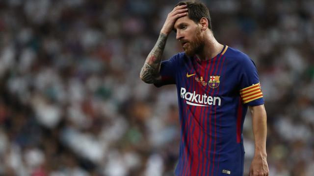 Messi compara Barcelona à seleção argentina e pensa em sair, diz site