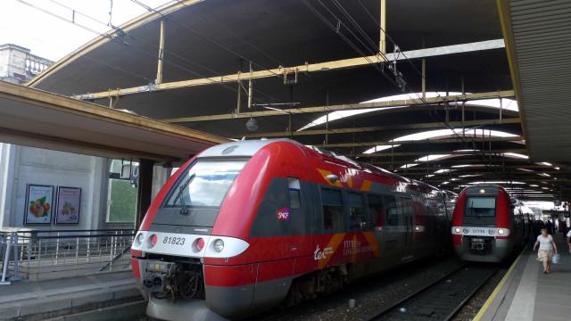 Homem preso em estação de trem na França portava arma de brinquedo