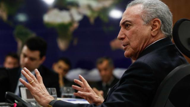 Temer e Cartes vão discutir segurança na fronteira e Mercosul