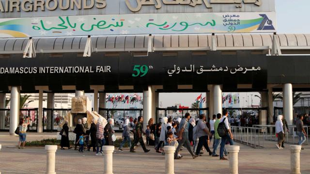 Explosão deixa 6 mortos em Feira Internacional de Damasco