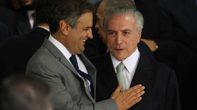 Temer também é vencedor com votação favorável a Aécio, avalia Planalto
