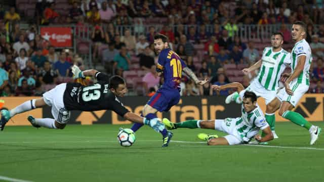 Em meio à crise, Barcelona estreia com vitória na Liga Espanhola
