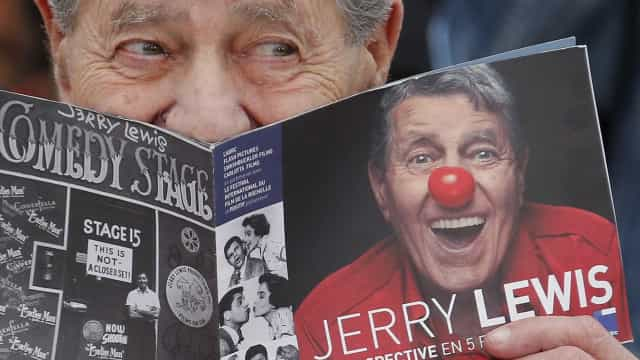 Artistas lamentam a morte do comediante Jerry Lewis