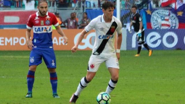 Bahia ganha e Vasco chega a cinco jogos sem vitória no Brasileiro