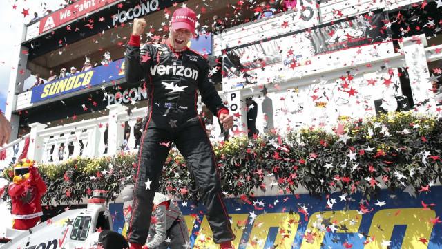 Will Power vence as 500 Milhas de Pocono na Indy e Kanaan é o quinto