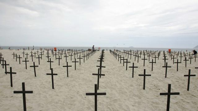 Número de assassinatos no Brasil chega a 30 mil em sete meses